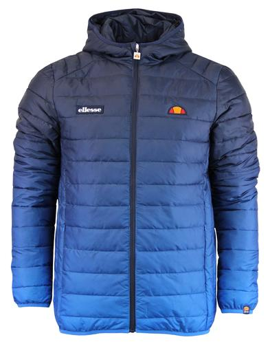 Lombardy Fade ELLESSE Retro Quilted Ski Jacket DB