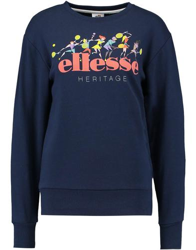 Marchetti ELLESSE Womens Retro 80s Archive Sweater
