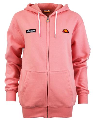 Serinatas ELLESSE Womens Retro Zip Thru Hoodie (P)