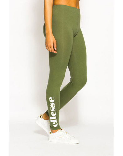 Solos ELLESSE WOMENS Retro 80s Logo Leggings Green