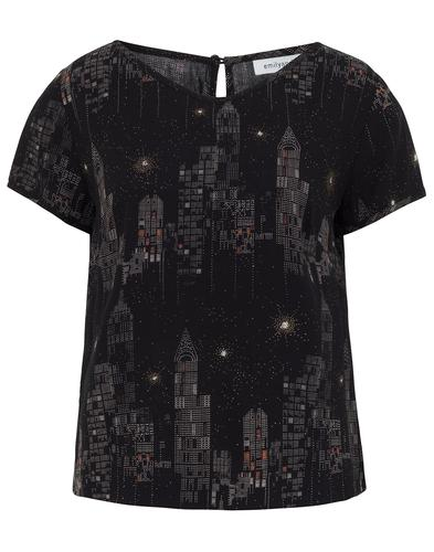 Etta EMILY AND FIN Retro New York City Lights Top