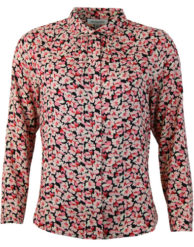 Katie EMILY AND FIN Womens Retro 60s Floral Shirt