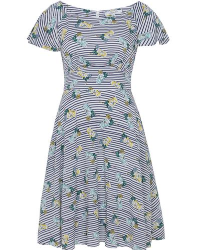Frederica EMILY & FIN Retro Cuban Cocktails Dress