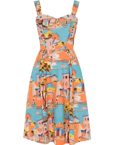 Pippa EMILY & FIN Retro Old Havana Summer Dress