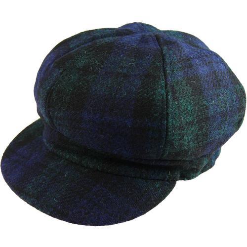 da439c307bd81 FAILSWORTH Women s Harris Tweed Bakerboy Cap (N G)