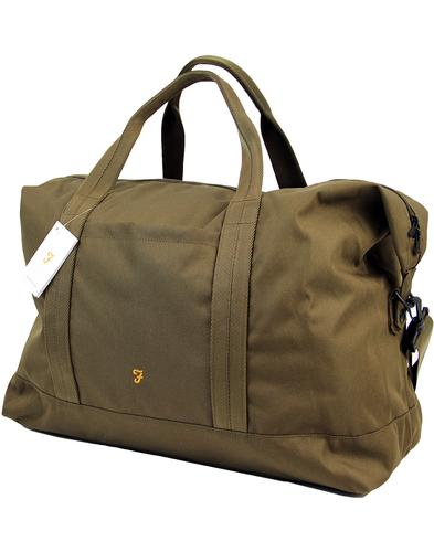 Franks FARAH Retro Military Weekend Bag GREEN