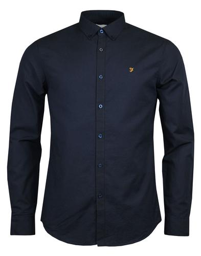 Leon FARAH Mod Laundered Lightweight Oxford Shirt