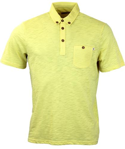 Stapelford FARAH 1920 Mod S/S Textured Polo Top DC
