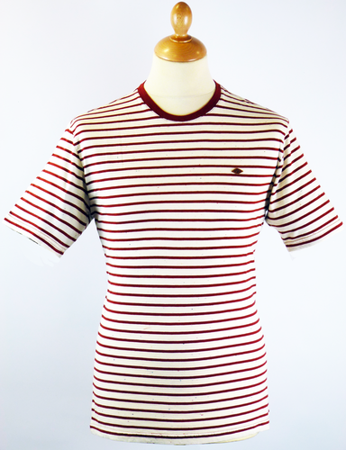 The Barden FARAH 1920 Retro 60s Mod Stripe Tee (C)