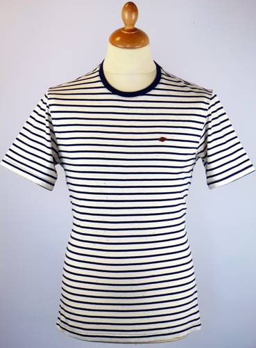 The Barden FARAH 1920 Retro 60s Mod Stripe Tee (I)