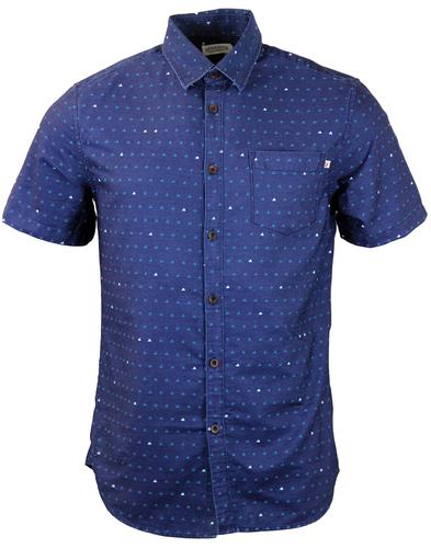 Shenley FARAH 1920 Retro Geometric Triangle Shirt
