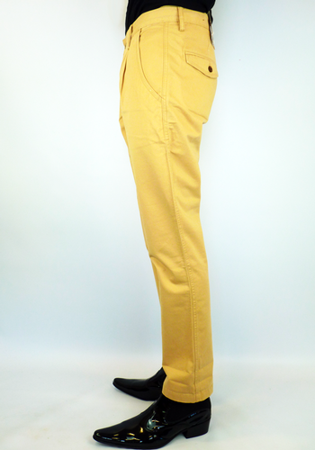 Albany FARAH VINTAGE Retro Mod Chino Trousers (D)