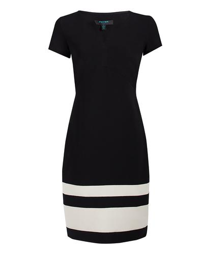 Winona FEVER Retro 60s Mod Pencil Dress in Black