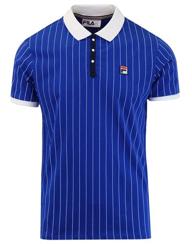 BB1 FILA VINTAGE Retro 70s Borg Tennis Polo Top SW
