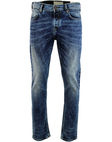 FRENCH CONNECTION Slim Leg Retro Denim Jeans (LI)