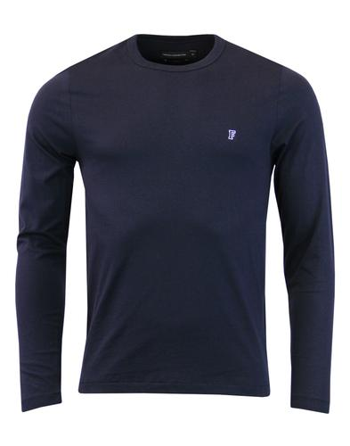 FRENCH CONNECTION Retro Long Sleeve Crew Tee (MB)
