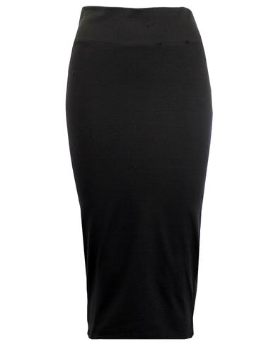eUKalyptus Retro 1950s Style Pencil Skirt in Black