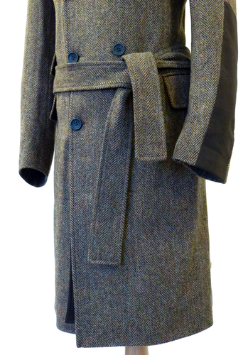 FERGUSON of LONDON Magee of Donegal Tweed Overcoat
