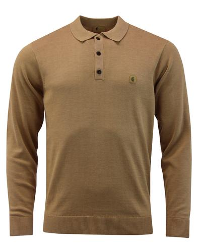 Francesco GABICCI VINTAGE Retro Mod Knit Polo Top
