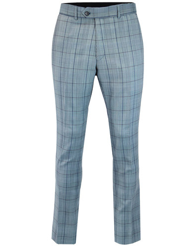 Marriott GIBSON LONDON 60s Mod POW Check Trousers