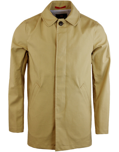 GLOVERALL Retro Sixties Showerproof Car Coat