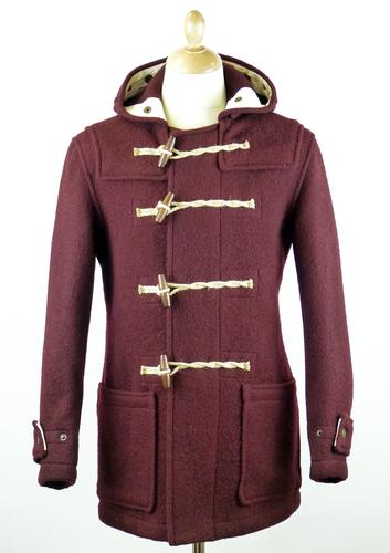 GLOVERALL 3210 Mid Length Monty Mod Duffle Coat Bu