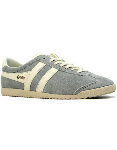 GOLA Bullet Women's Retro 70s Suede Trainers GREY
