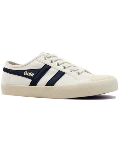 Coaster GOLA Mens Retro 70s Canvas Trainers (OW/N)