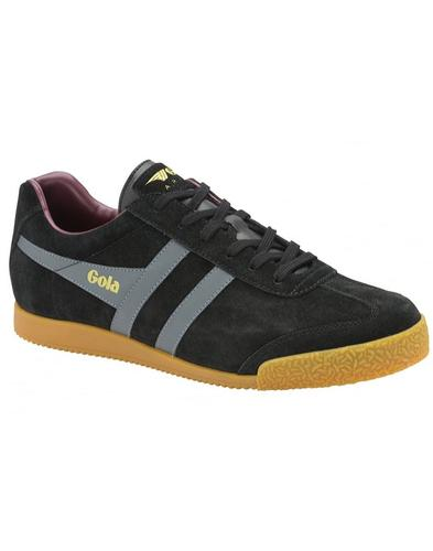 GOLA Harrier Suede Mens Retro 1970s Trainers (BGB)
