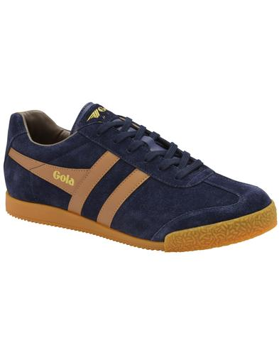 GOLA Harrier Suede Mens Retro 1970s Trainers (NTS)