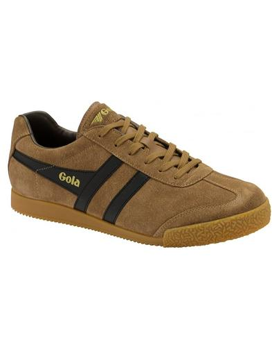GOLA Harrier Suede Mens Retro 1970s Trainers (TBB)