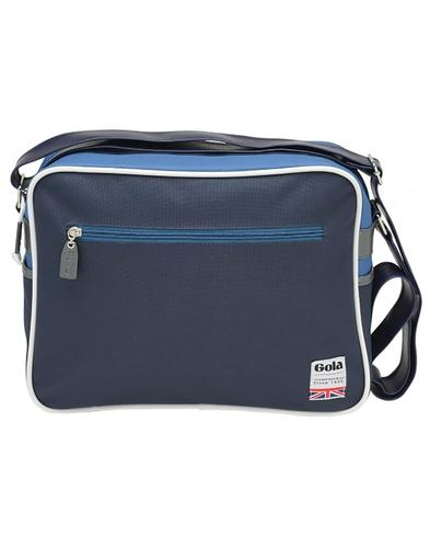 Redford Polyester GOLA Retro 70s Messenger Bag