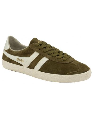 Specialist GOLA Retro 1970s Suede Trainers (K/OW)