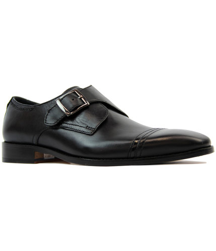 Sawley GOODWIN SMITH Retro Mod Monk Strap Shoes