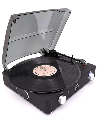 Stylo II GPO RETRO 1960s Mod Record Player - Black