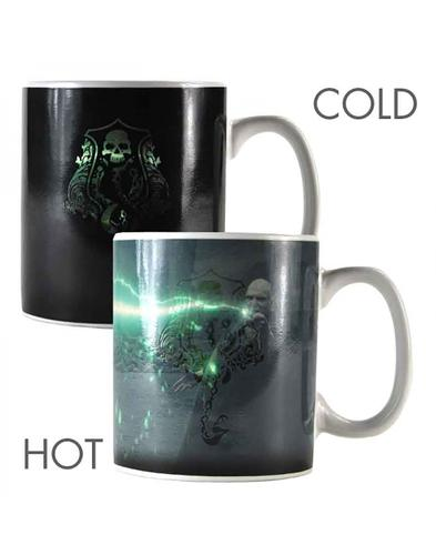 Voldemort HARRY POTTER Retro Heat Changing Mug