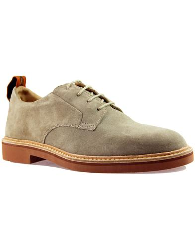 Malto HUDSON 365 Collection Mod Suede Shoes Stone