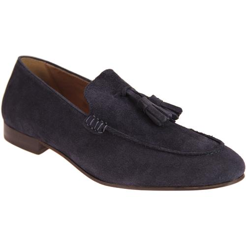 89808ad0420 hudson mens bolton retro mod suede tassel loafers navy. Hudson Shoes