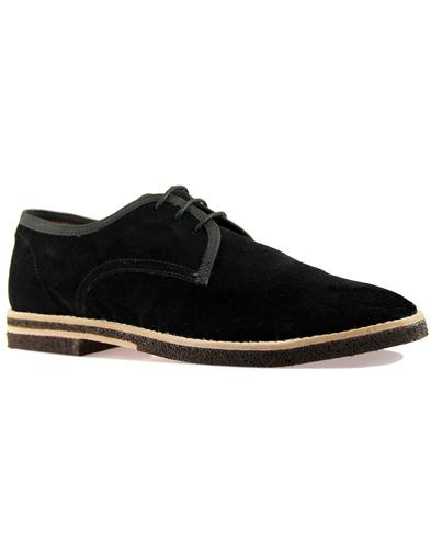 Agadir HUDSON Retro Lightweight Suede Derby Shoes