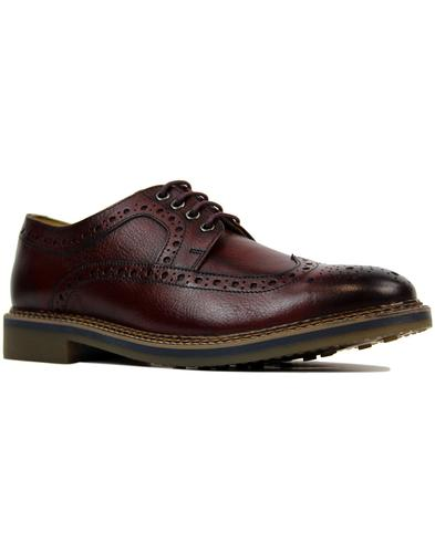 Barley IKON Retro Mod Tumbled Leather Brogues (Bo)
