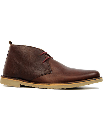 Luger IKON Retro Mod 2-tone Leather Desert Boots