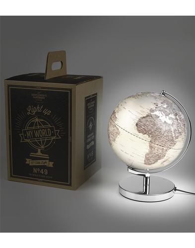 Gentlemen's Hardware Retro Illuminated Globe Lamp