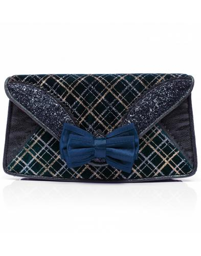 Ban Joe Clutch IRREGULAR CHOICE Tartan Handbag N