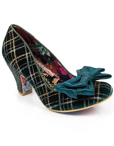 Ban Joe IRREGULAR CHOICE Vintage Tartan Heels G