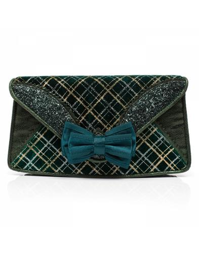 Ban Joe Clutch IRREGULAR CHOICE Tartan Handbag G