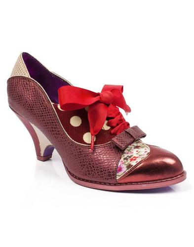 Force of Beauty POETIC LICENCE Retro Floral Heels