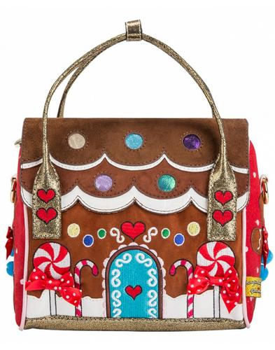 House Party IRREGULAR CHOICE Gingerbread Handbag