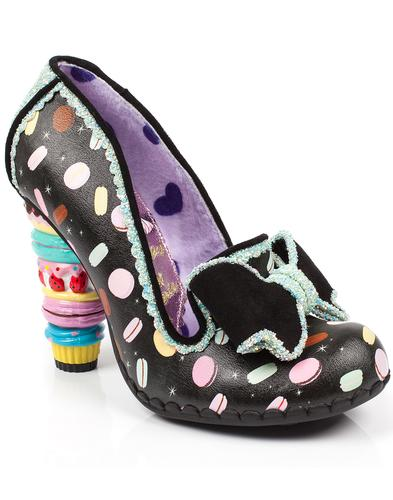 Little Kisses IRREGULAR CHOICE Sweetie Heels Black