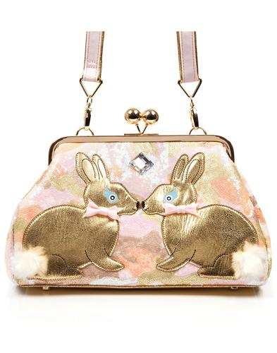 Magic Bunny IRREGULAR CHOICE Retro Clasp Handbag