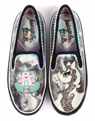 Misty Castle IRREGULAR CHOICE 80s Unicorn Pumps B